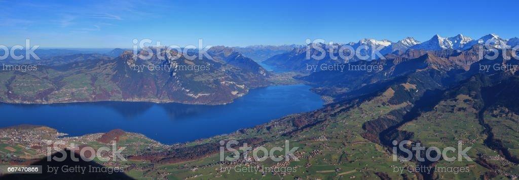 Beautiful Bernese Oberland stock photo