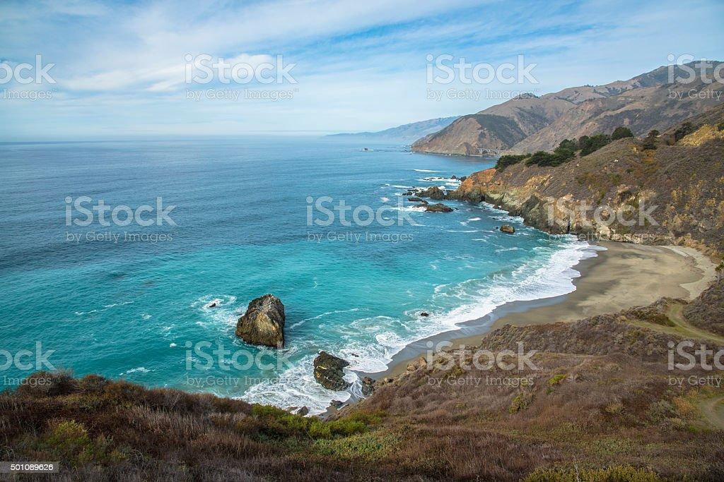 Beautiful Big Sur stock photo