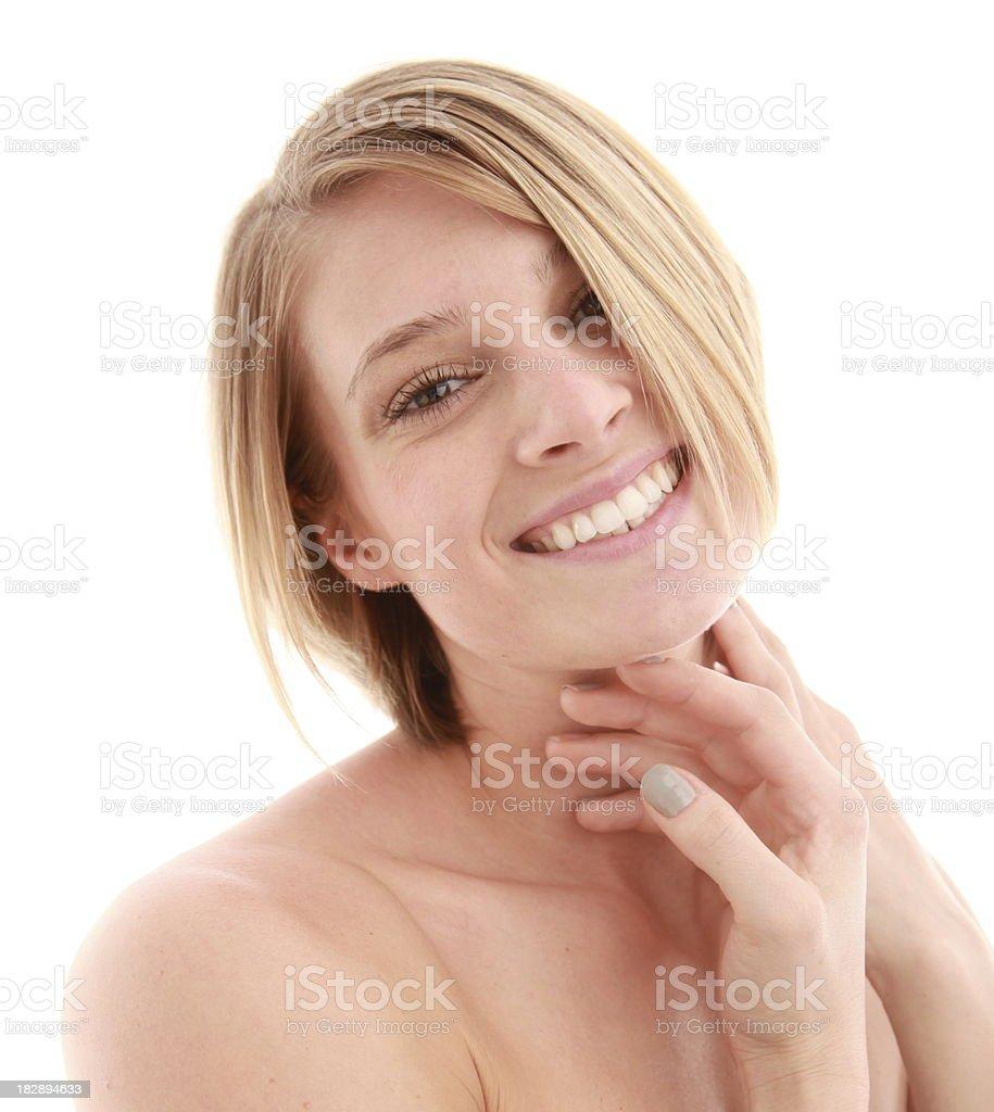 Hermosa rubia foto foto de stock libre de derechos