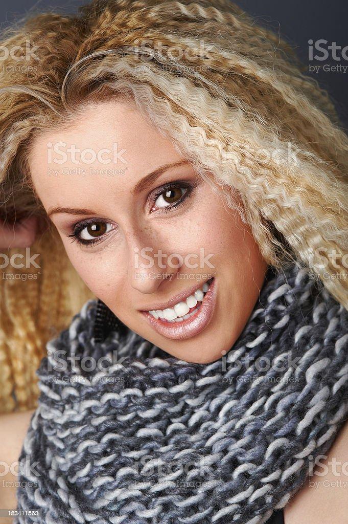 beautiful blond royalty-free stock photo