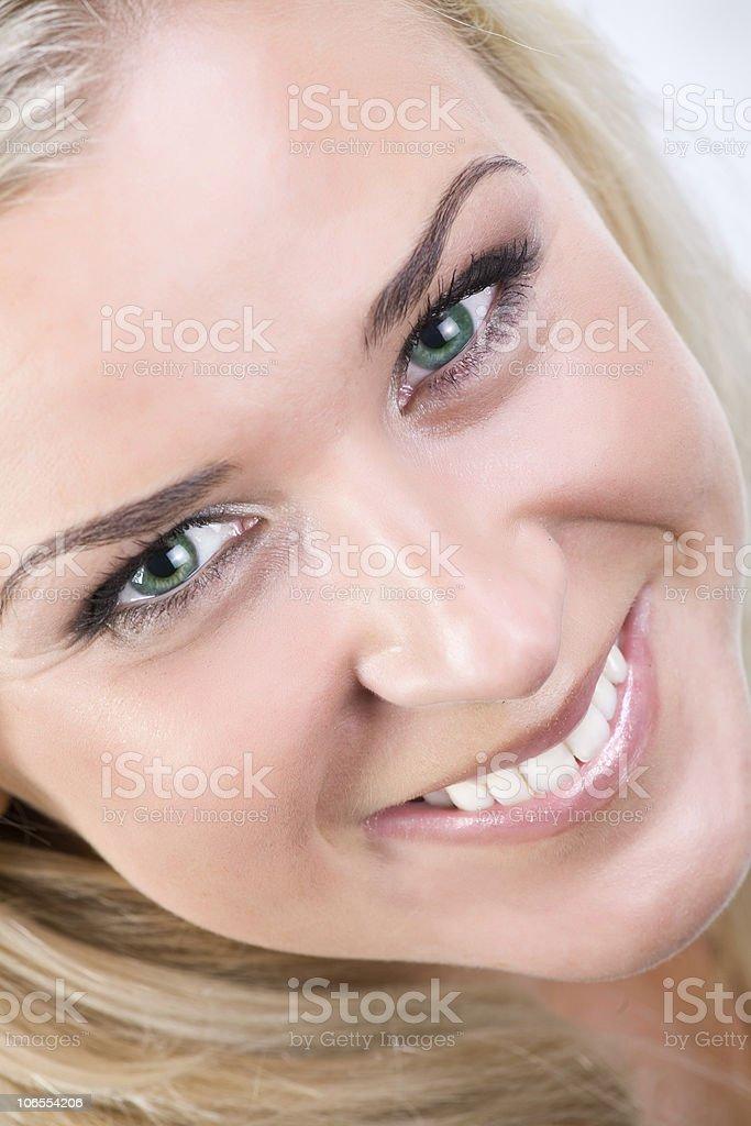 beautiful blonde royalty-free stock photo