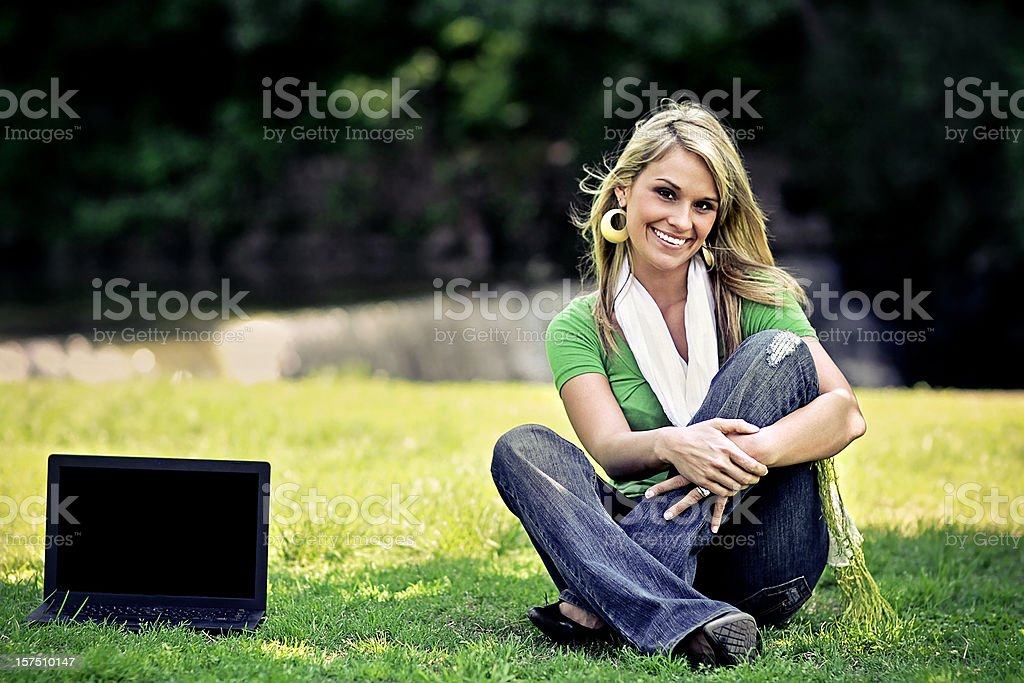 Beautiful Blonde Portraits royalty-free stock photo