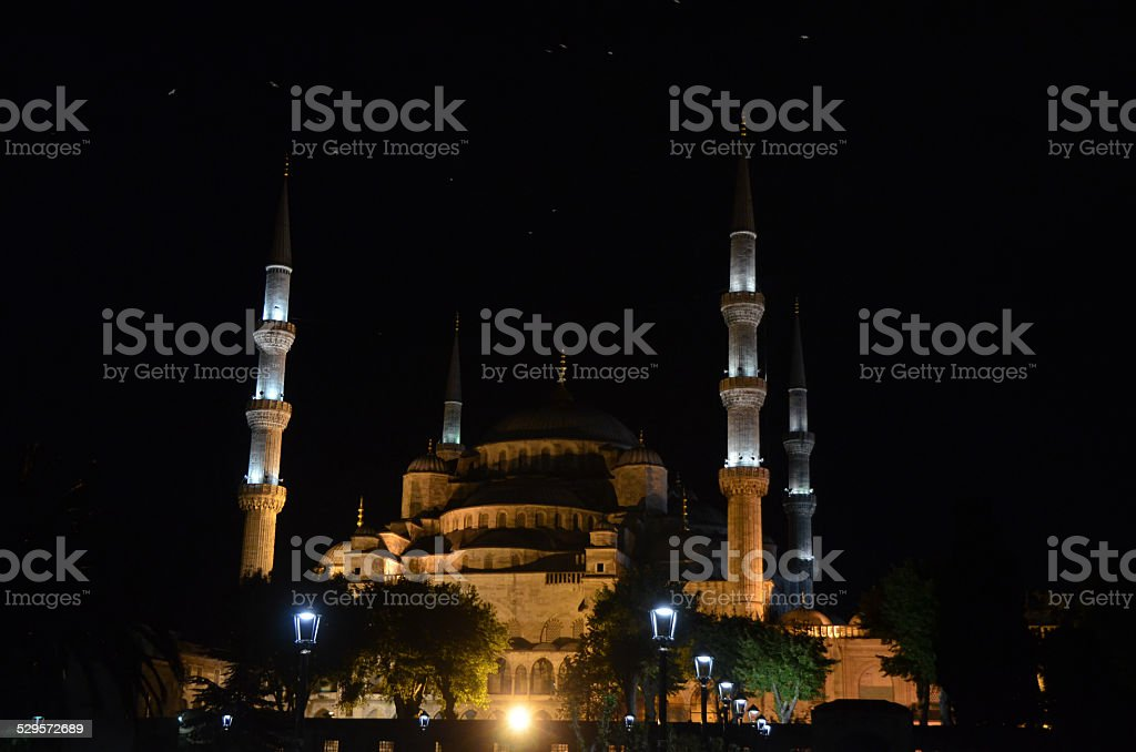 Beautiful Blue Mosque (Sultanahmet), Istanbul stock photo