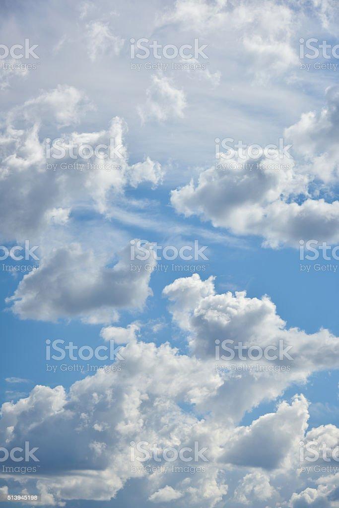 Schönen blauen Himmel Lizenzfreies stock-foto
