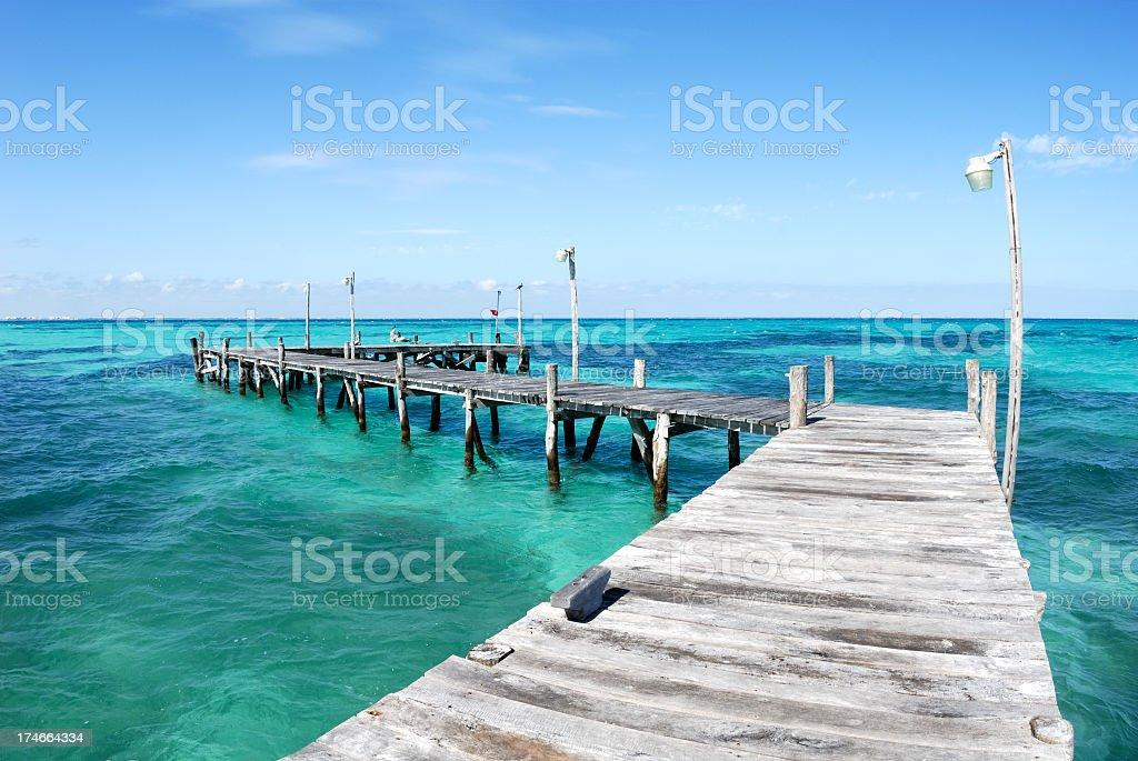 Beautiful blue water royalty-free stock photo