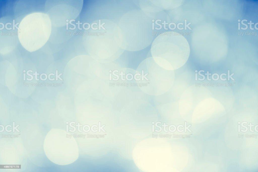 Beautiful bokeh lights stock photo