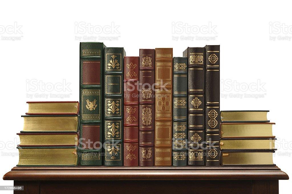 Beautiful Books stock photo