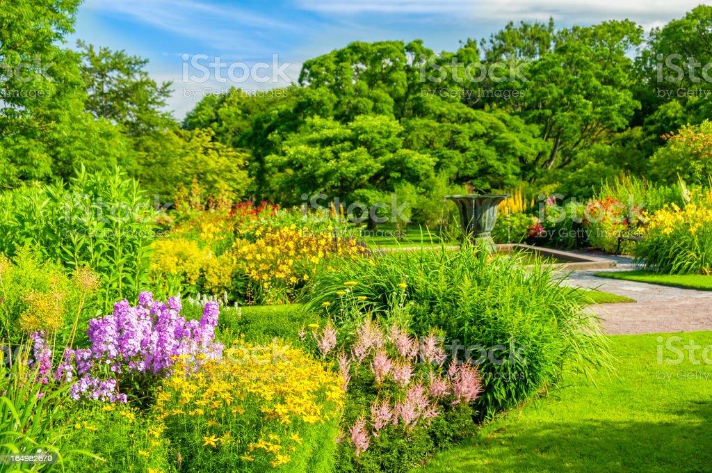 Beautiful Botanical garden of Gothenburg royalty-free stock photo