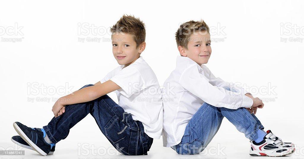 beautiful boys royalty-free stock photo