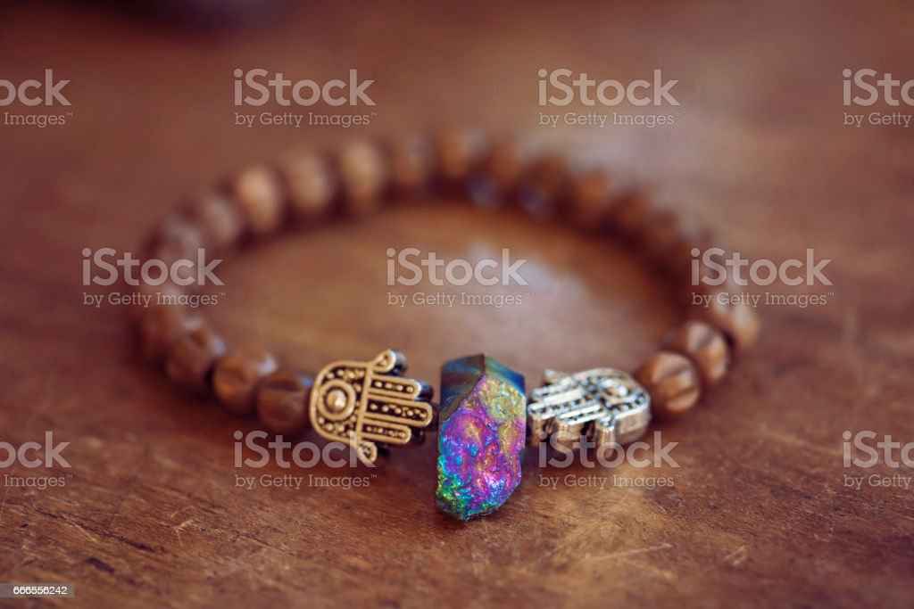 Beautiful bracelet stock photo