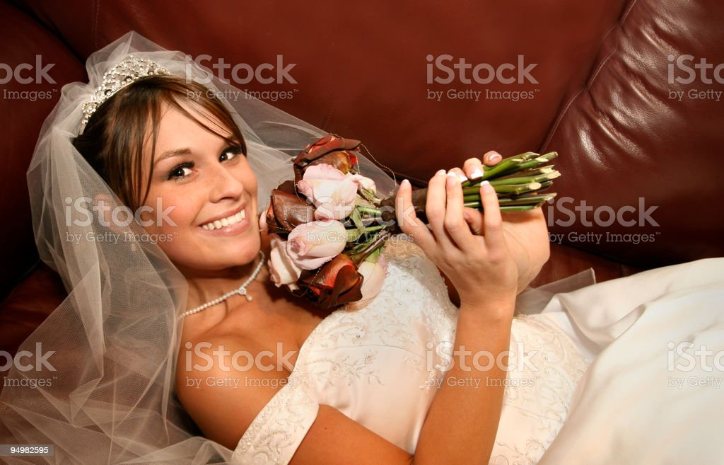 beautiful Bridal Portraits royalty-free stock photo