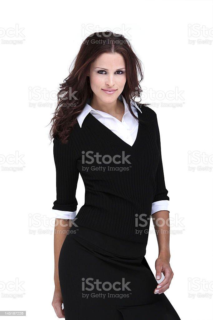 Hermosa modelo oscuras foto de stock libre de derechos