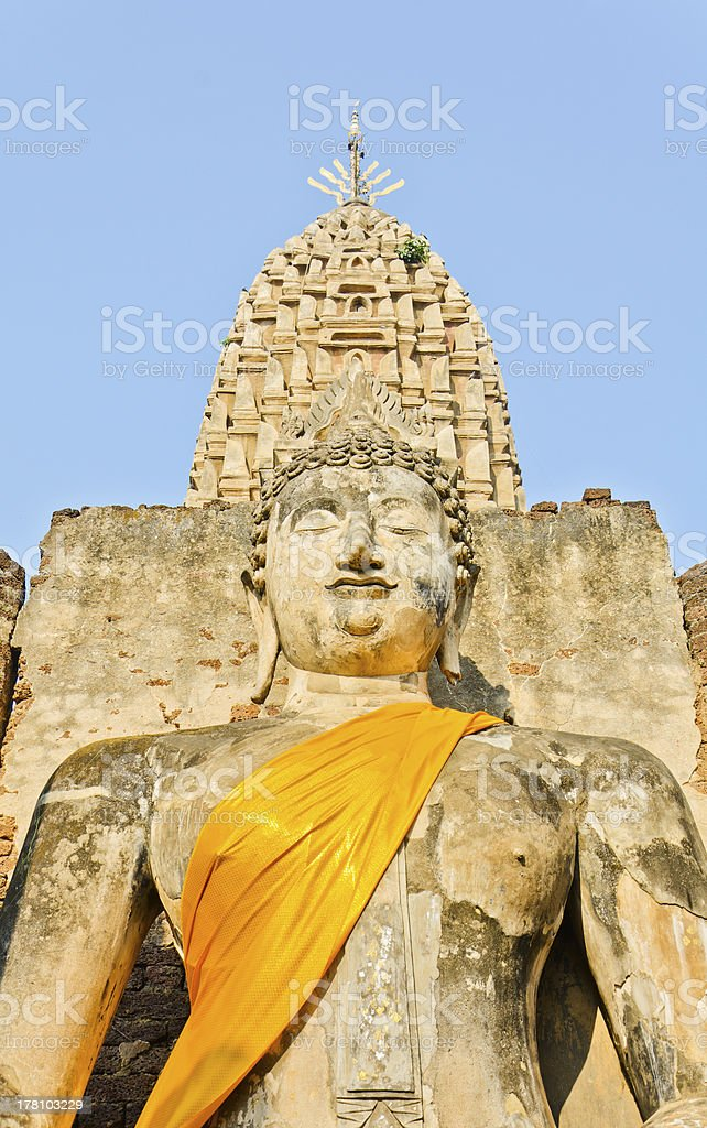 Beautiful Buddha image royalty-free stock photo