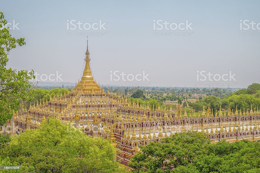 Beautiful Buddhist Pagoda stock photo