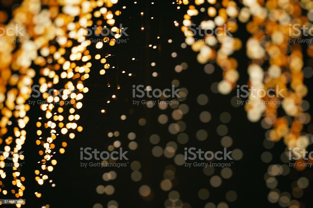 Beautiful burst of light circles stock photo