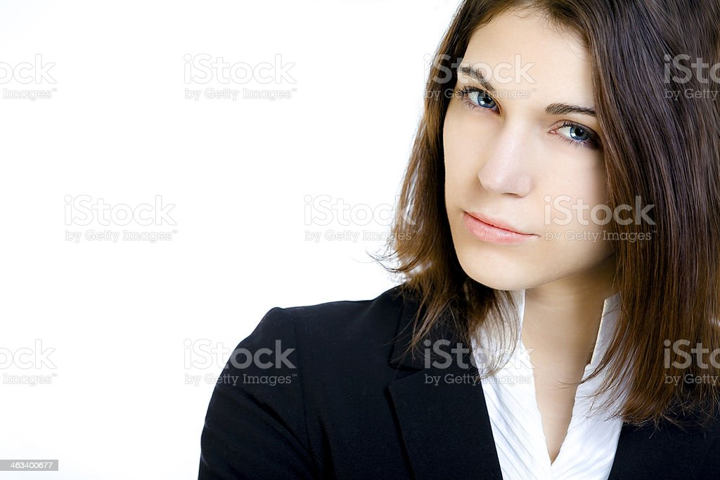 Beautiful businesswoman. royalty-free stock photo