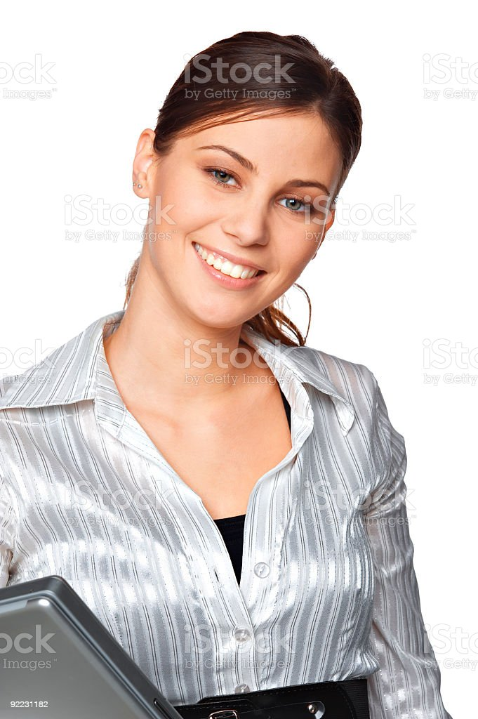 beautiful businesswoman royalty-free stock photo
