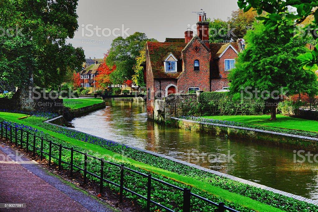 Beautiful Canterbury stock photo