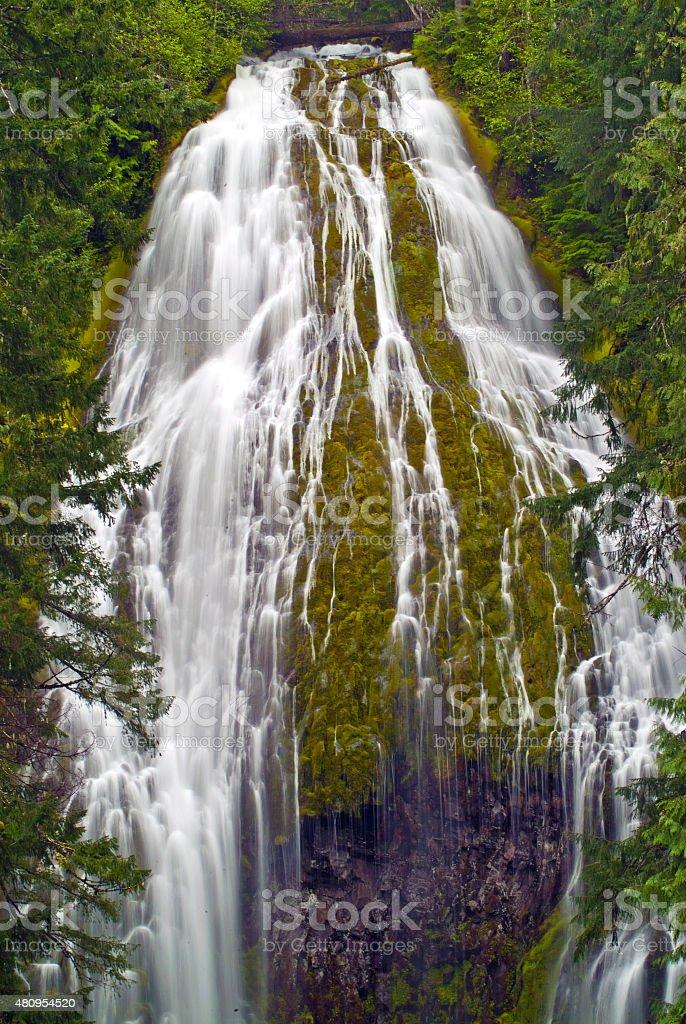 Beautiful Cascade stock photo