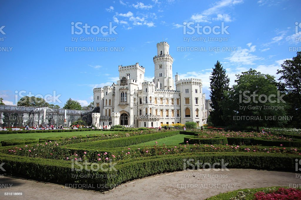 Beautiful Castle stock photo