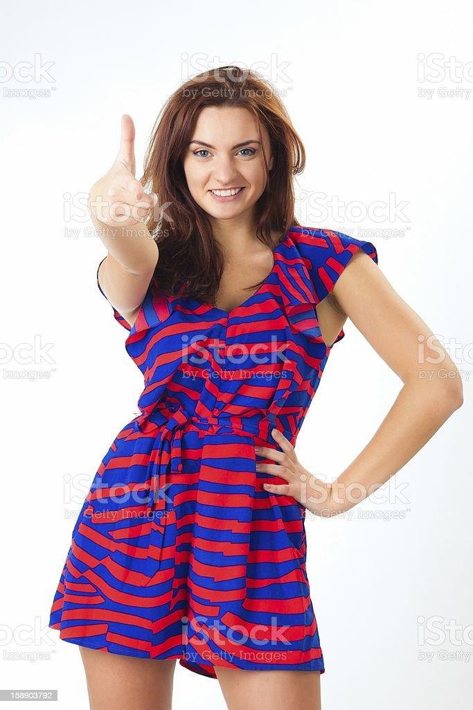 Wunderschöne Lässig junge Frau Lizenzfreies stock-foto
