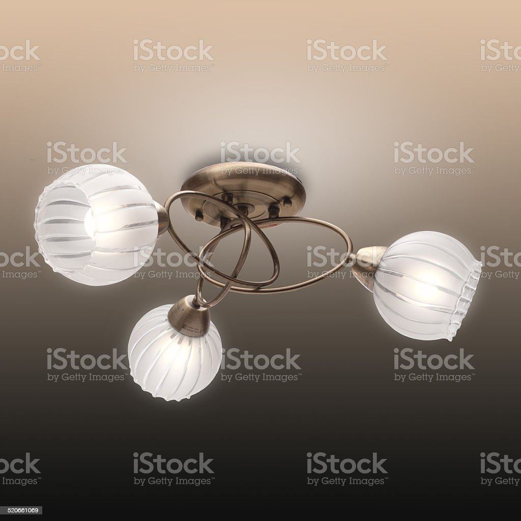 Beautiful chandelier royalty-free stock photo