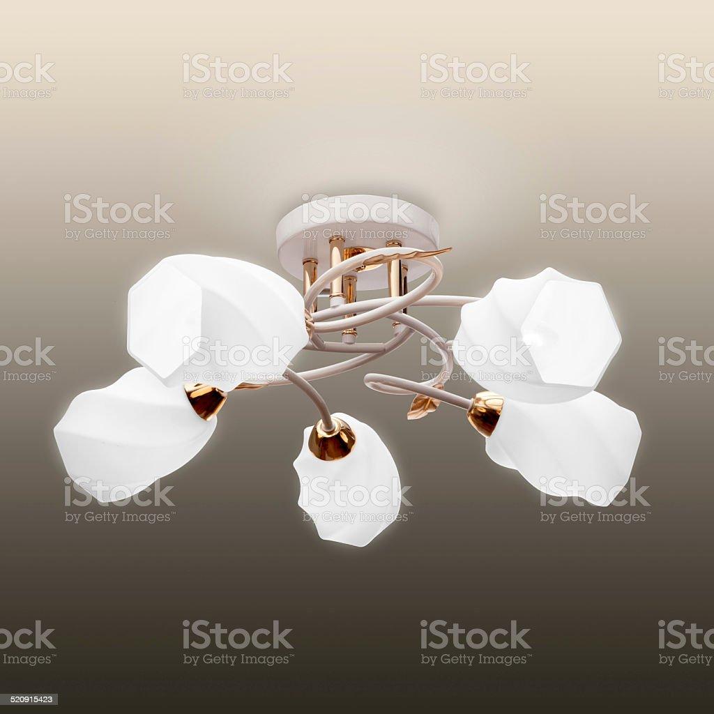 Beautiful chandelier royalty-free stock photo