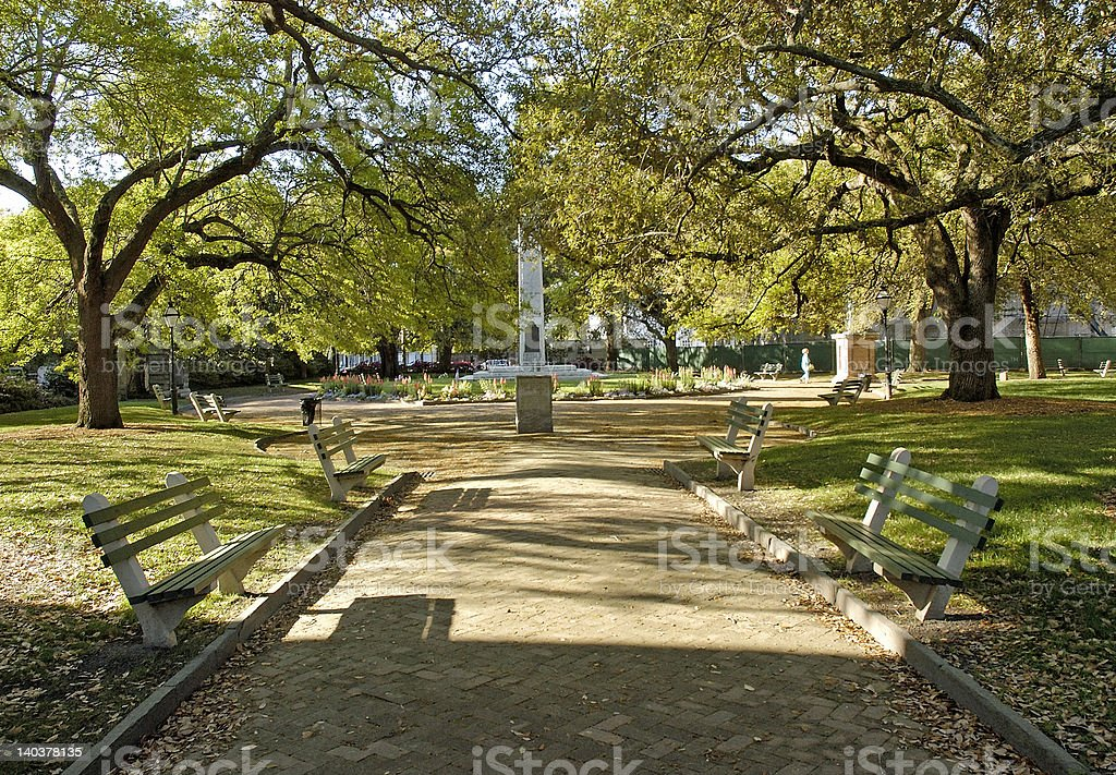 beautiful Charleston park royalty-free stock photo