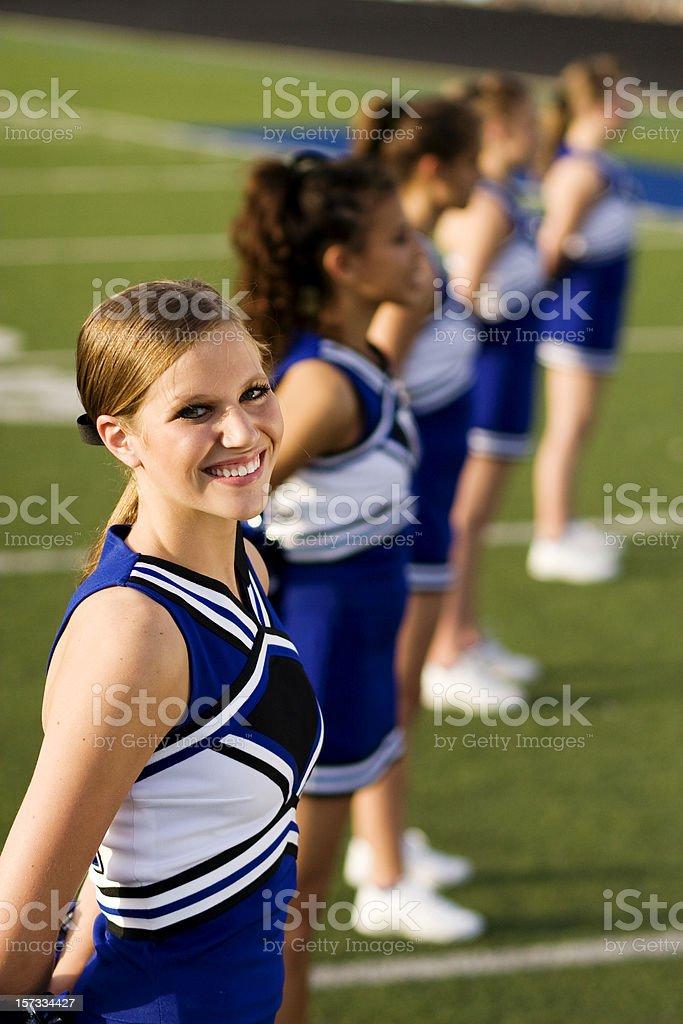 Beautiful Cheerleader stock photo