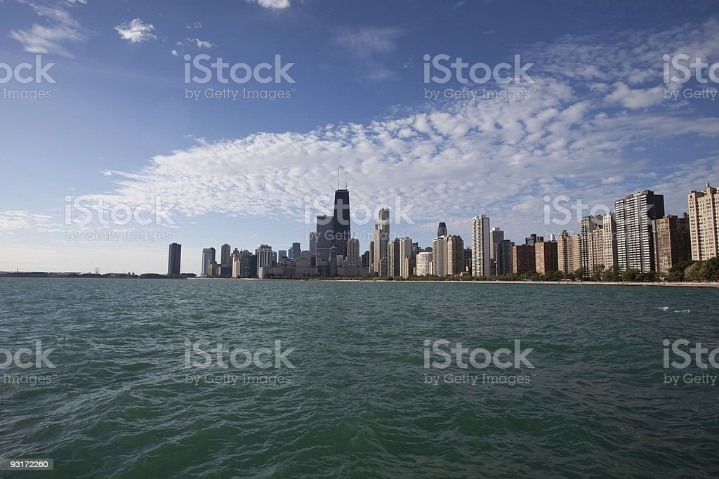 Beautiful Chicago royalty-free stock photo