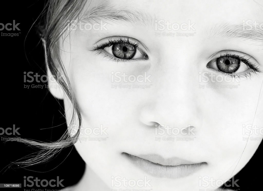Beautiful Child Looking at the Camera royalty-free stock photo