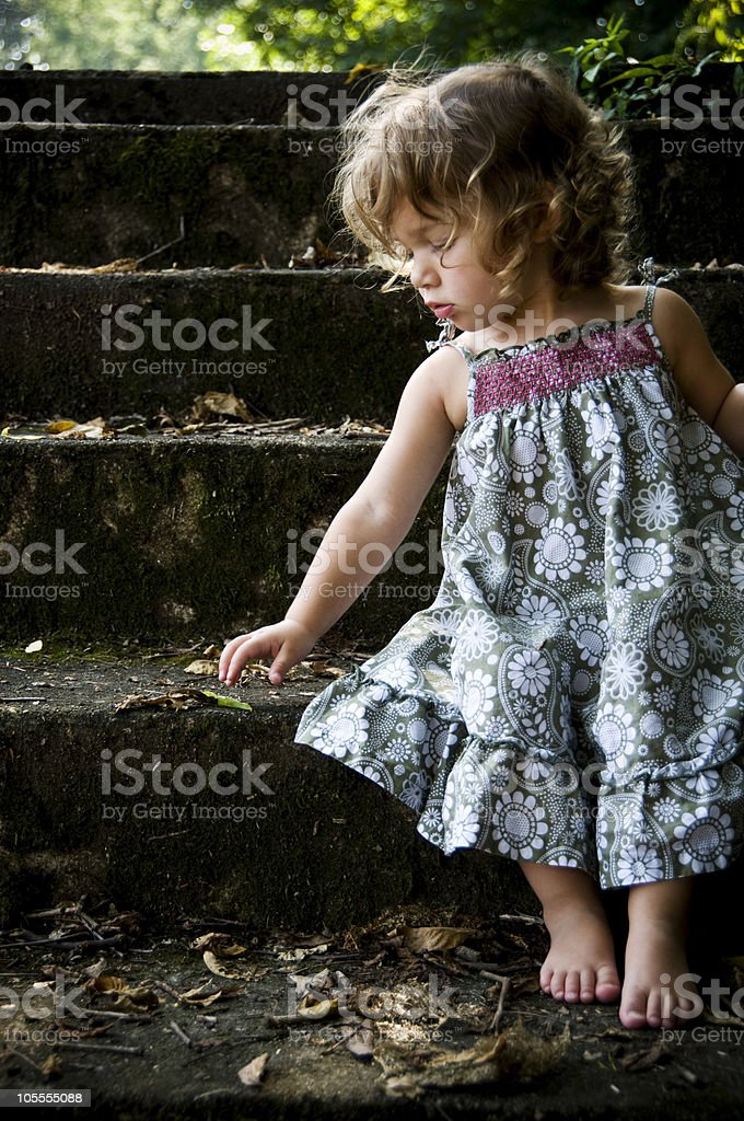 Beautiful Child Portraits royalty-free stock photo
