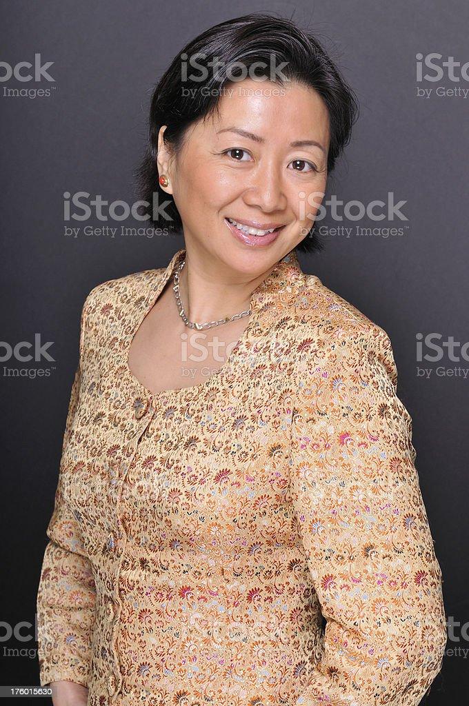 Beautiful Chinese woman royalty-free stock photo