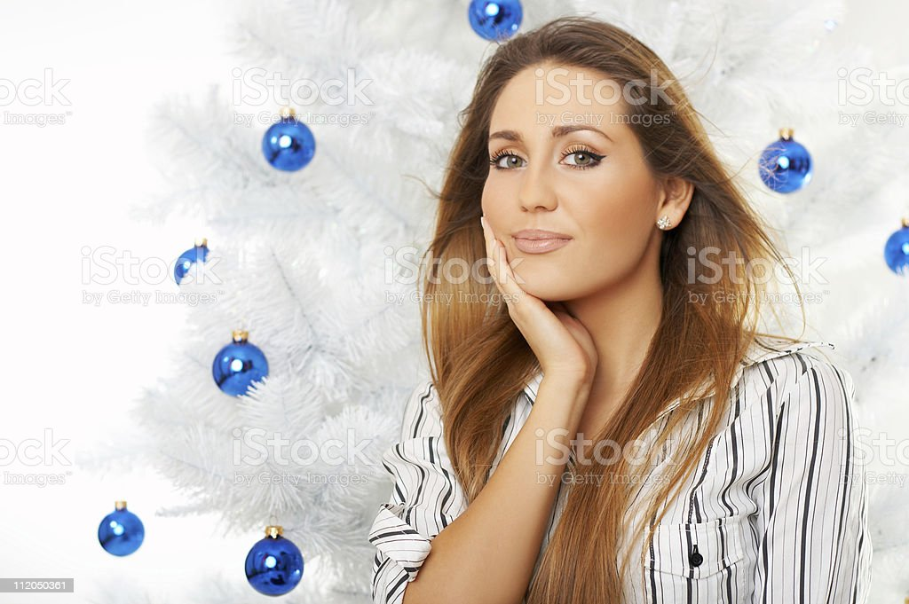 Beautiful Christmas royalty-free stock photo