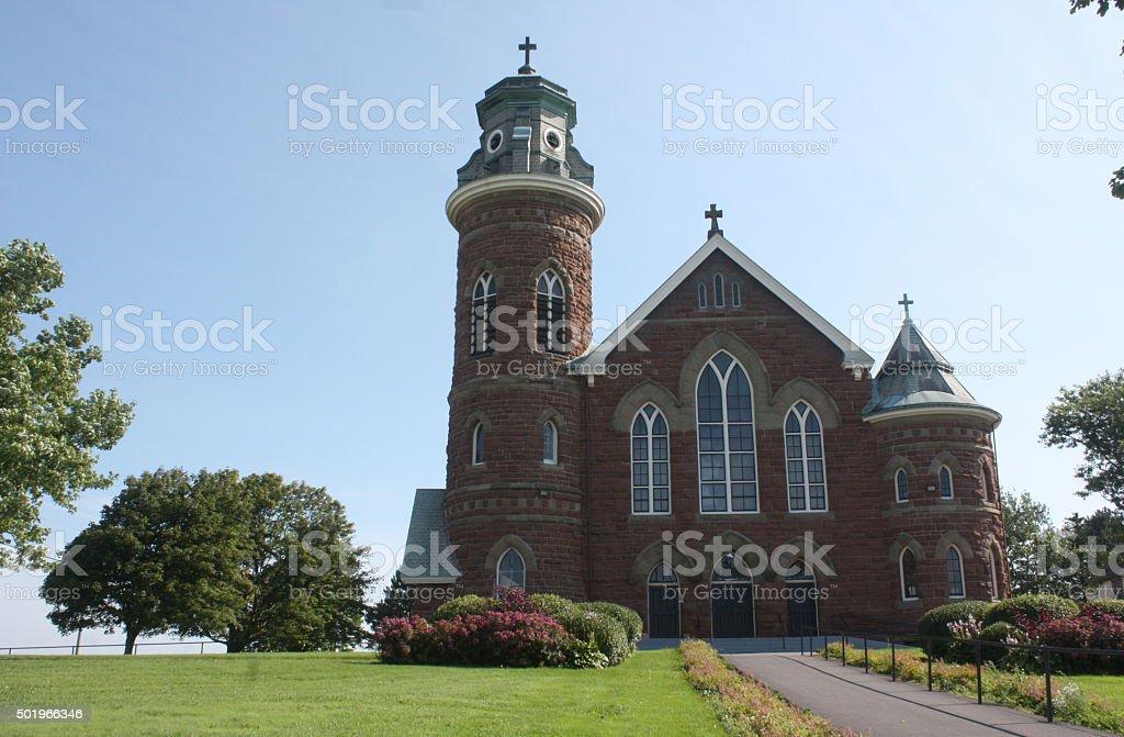 Beautiful Church - Prince Edward Island, Canada stock photo