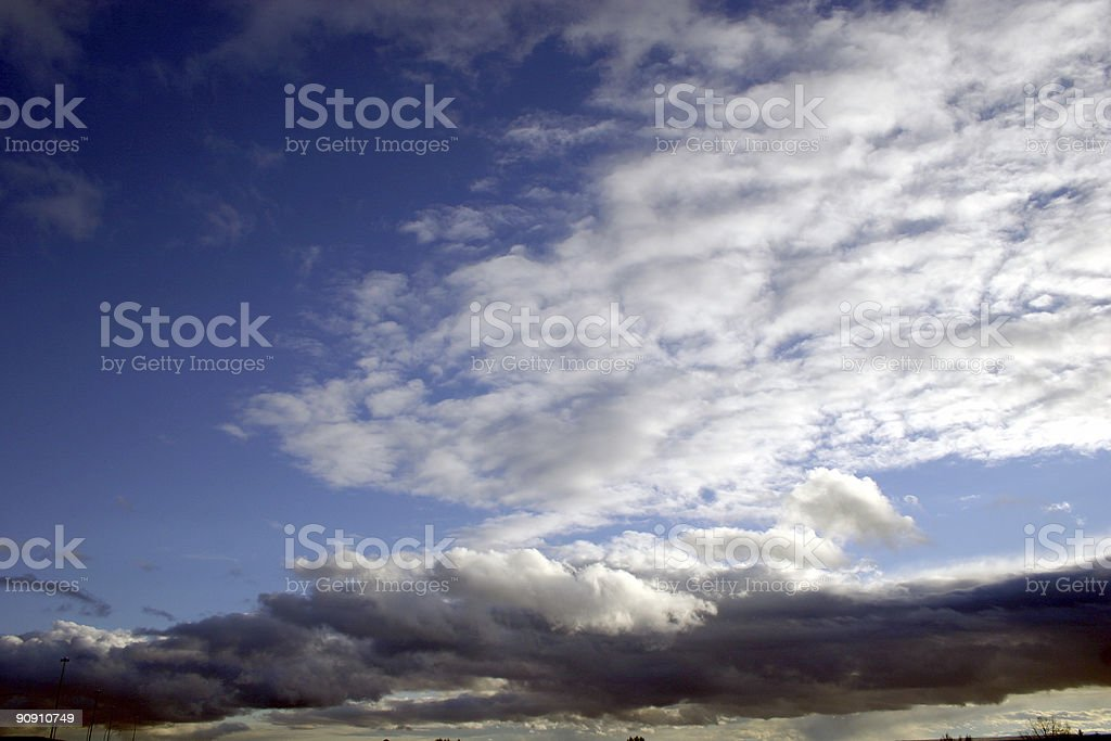 Beautiful Cloud scape royalty-free stock photo