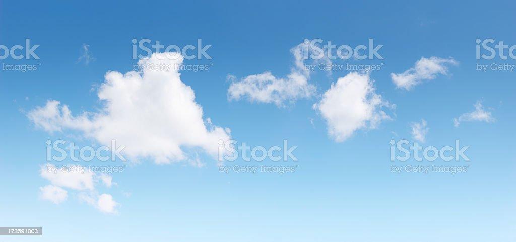 Beautiful Clouds XXL royalty-free stock photo