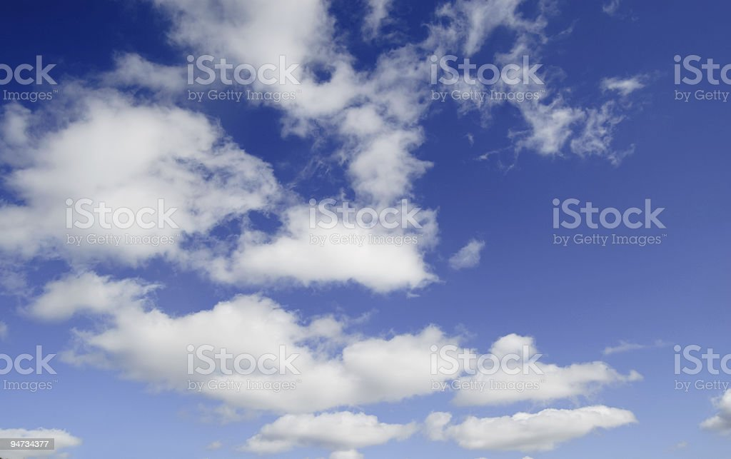 beautiful cloudscape background royalty-free stock photo