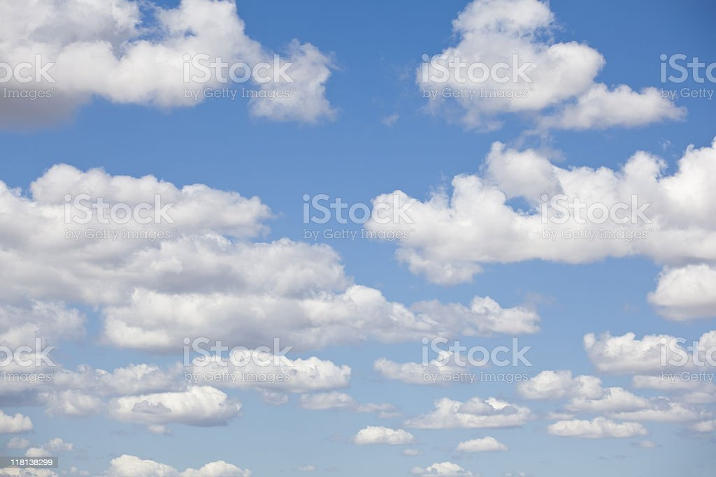 Beautiful cloudscape stock photo
