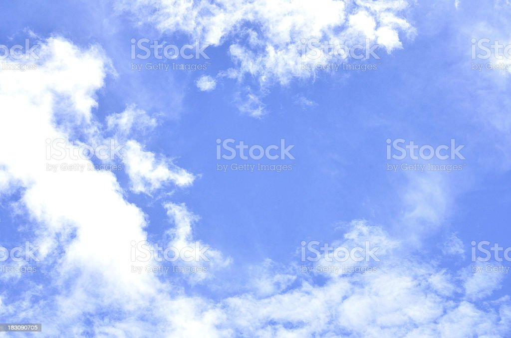 Beautiful cloudscape royalty-free stock photo
