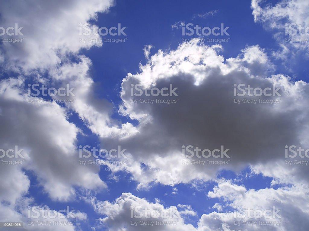 Beautiful cloudy sky royalty-free stock photo