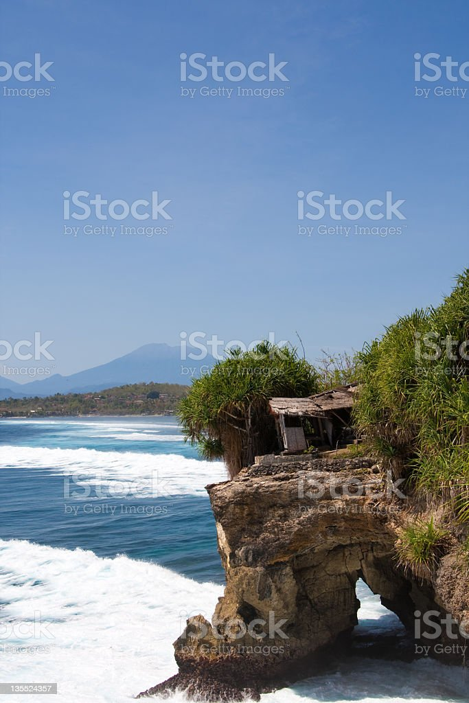 Beautiful coastline royalty-free stock photo
