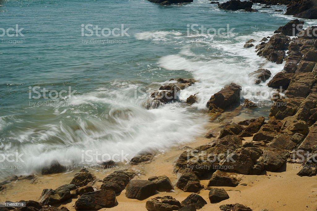 Beautiful Coastline royalty-free stock photo
