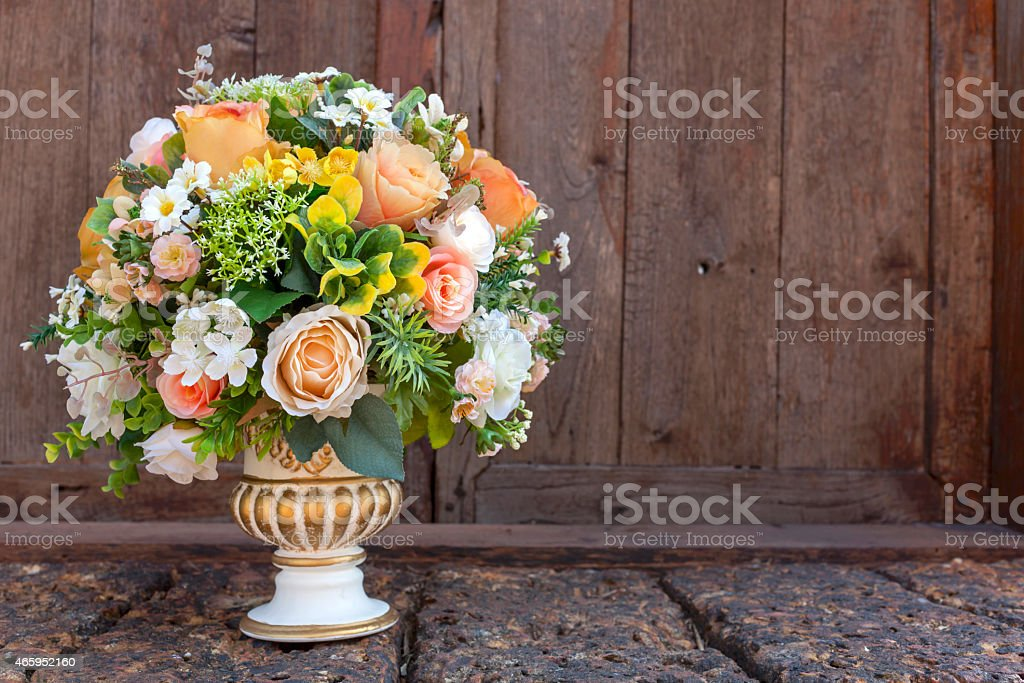Beautiful colorful flower bouquet background royalty-free stock photo