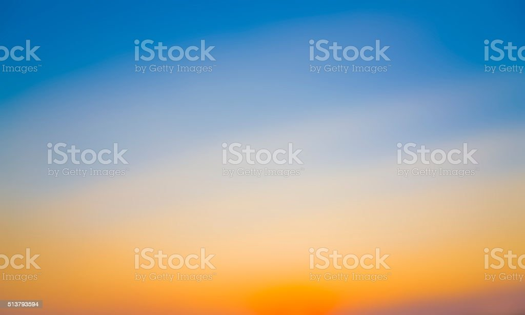 Beautiful colorful of abstract blur background, sunset color background stock photo