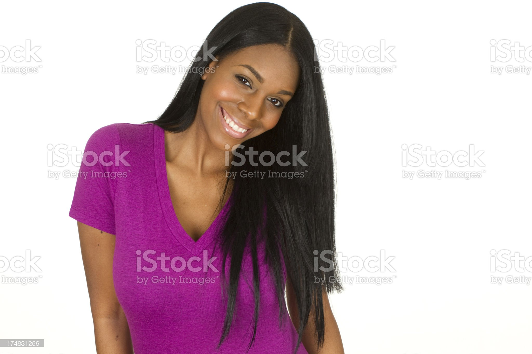 beautiful confident woman royalty-free stock photo