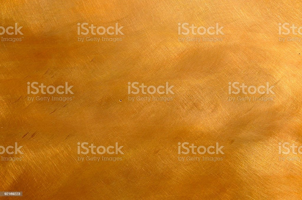 Beautiful copper bronze metal texture cloudy scratchy stock photo
