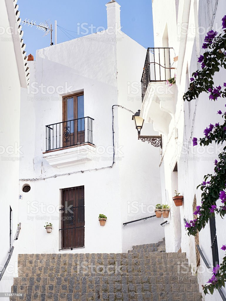Beautiful corner Andalusian royalty-free stock photo