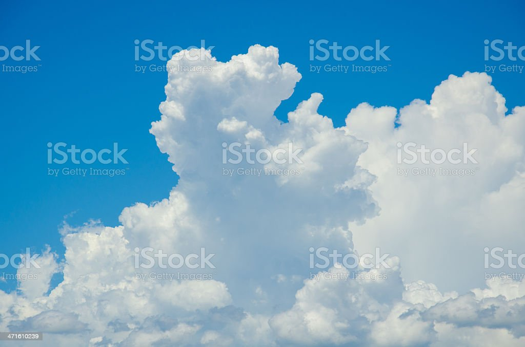 beautiful could and blue sky royalty-free stock photo