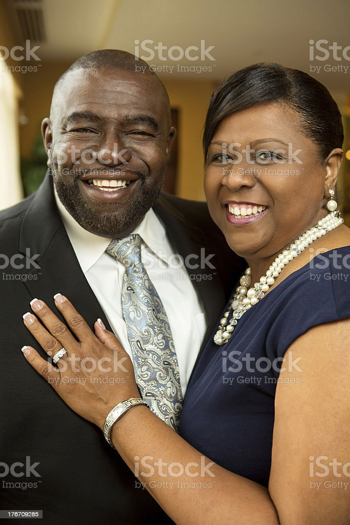 Beautiful Couple in Love royalty-free stock photo